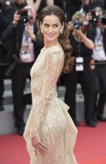 IZABEL GOULART at The Double Lover Premiere at 70th Annual Cannes Film Festival 05/26/2017