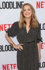 JACINDA BARRETT at Bloodline Season 3 Premiere in Culver City 05/24/2017