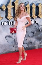 JACQUI AINSLEY at King Arthur: Legend of the Sword Premiere in London 05/10/2017