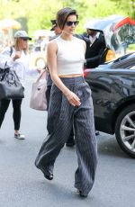 JAIMIE ALEXANDER Arrives at Her Hotel in New York 05/14/2017