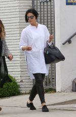 JAIMIE ALEXANDER Out for Lunch at Gracias Madre in West Hollywood 05/10/2017
