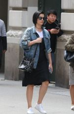 JAIMIE ALEXANDER Out Shopping in New York 05/03/2017