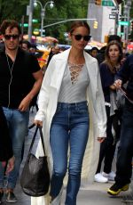 JAMIE CHUNG Out in New York 05/14/2017