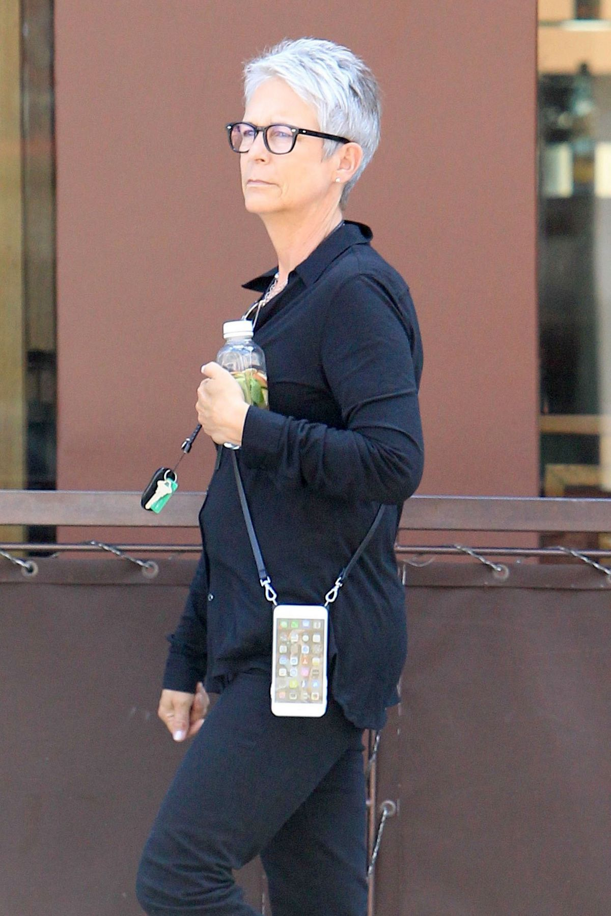 JAMIE LEE CURTIS Out Shopping in Beverly Hills 05/15/2017
