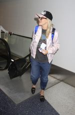 JAMIE LYNN SPEARS at LAX Airport in Los Angeles 04/30/2017