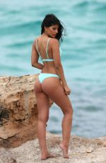 JASMIN WALIA in Bikinis on the Set of a Photoshoot in Ibiza 05/29/2017