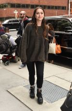 JASMINE THOMPSON Arrives at AOL Studios in New York 05/23/2017