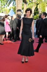 JEANNE BALIBAR at Ismael's Ghosts Screening and Opening Gala at 70th Annual Cannes Film Festival 05/17/2017