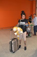 JEMMA LUCY Arrives at Airport in Izmir 05/07/2017