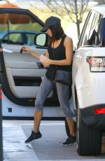 JENNA DEWAN Arrives at Lancer Dermatology in Beverly Hills 05/02/2017