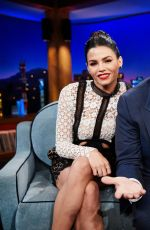 JENNA DEWAN at Late Late Show with James Corden 05/22/2017