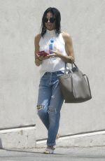 JENNA DEWAN in Ripped Jeans Out in Studio City 05/05/2017