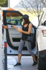 JENNA DEWAN Out and About in Beverly Hills 05/03/2017
