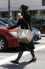 JENNA DEWAN Out for Coffee in Hollywood 05/08/2017