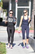 JENNIFER GARNER in Leggings Out in West Hollywood 04/29/2-17