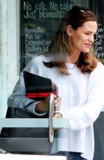JENNIFER GARNER Leaves a Hair Salon in Brentwood 05/25/2017
