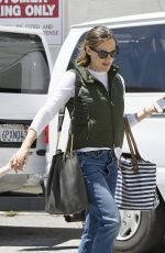 JENNIFER GARNER Out and About in Brentwood 05/13/2017