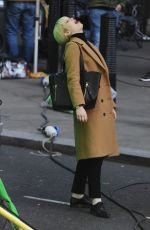 JENNIFER LAWRENCE on the Set of Red Sparrow 05/07/2017