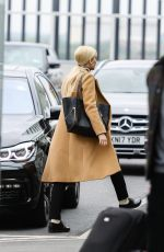 JENNIFER LAWRENCE on the Set of Red Sparrow at Heathrow Airport in London 05/04/2017