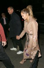 JENNIFER LOPEZ and Alex Rodriguez Out for Dinner in New York 05/08/2017