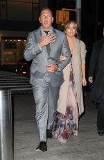 JENNIFER LOPEZ and Alex Rodriguez Out for Dinner in New York 05/14/2017