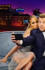 JENNIFER LOPEZ at Late Late Show with James Corden 05/04/2017