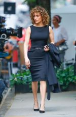 JENNIFER LOPEZ on the Set of Shades of Blue in New York 05/19/2017