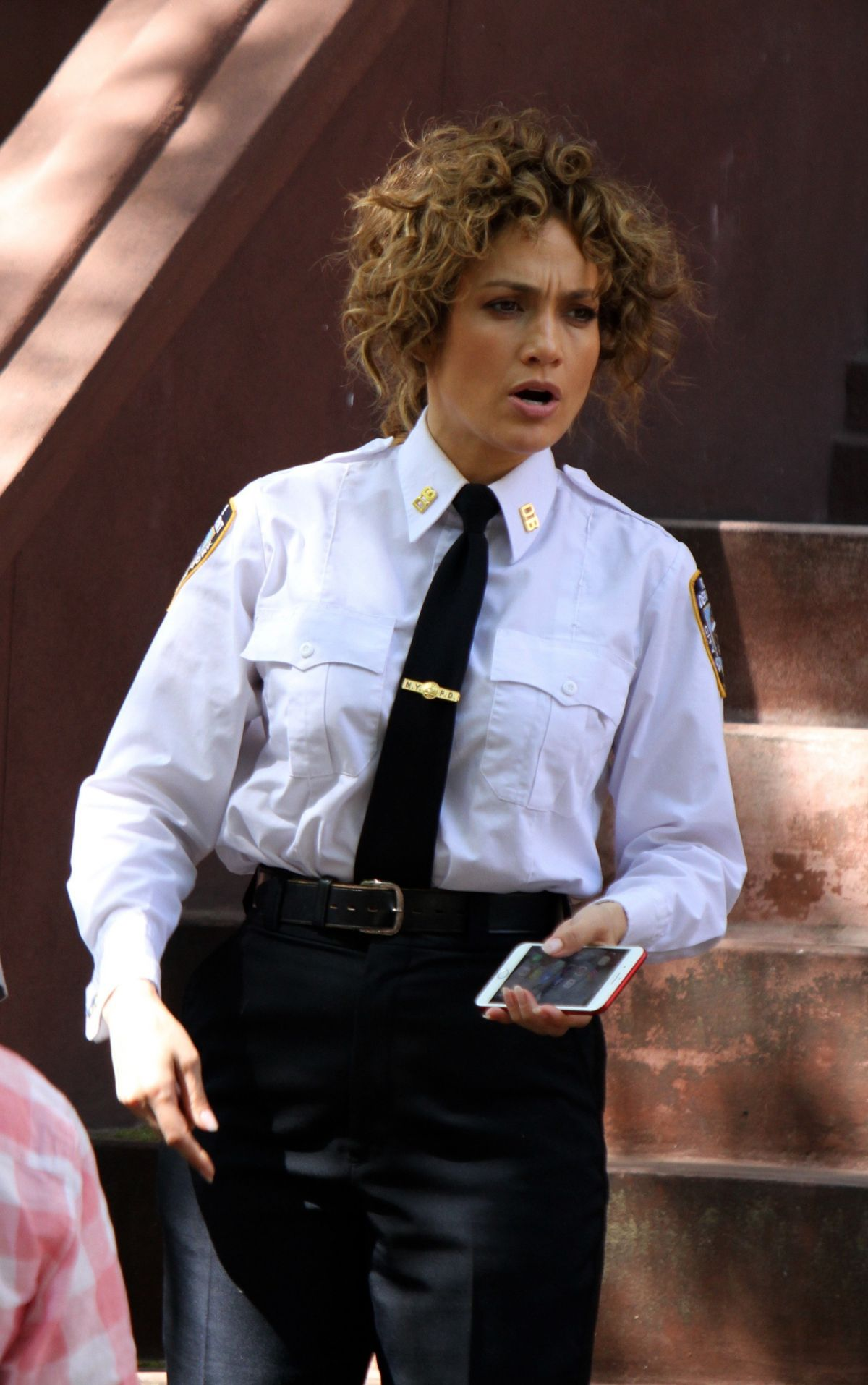 JENNIFER LOPEZ on the Set of Shades of Blue in New York 05/22/2017