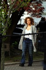 JENNIFER LOPEZ on the Set of Shades of Blue in Richmond Hills 05/10/2017