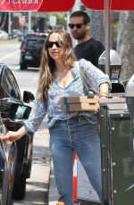 JENNIFER MEYER Out with Her Ex Husband Tobey Maguire in Brentwood 05/29/2017