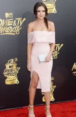 JESS CONTE at 2017 MTV Movie & TV Awards in Los Angeles 05/07/2017