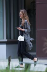 JESSICA ALBA Out and About in Los Angeles 05/08/2017