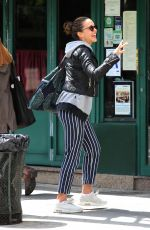 JESSICA ALBA Out and About in New York 05/09/2017