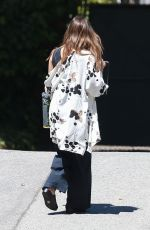 JESSICA ALBA Out and About in Westwood 05/20/2017