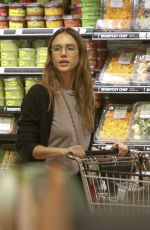 JESSICA ALBA Out for Grocery Shopping in Beverly Hills 04/29/2017
