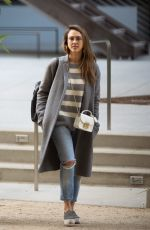 JESSICA ALBA Out in Los Angeles 05/19/2017