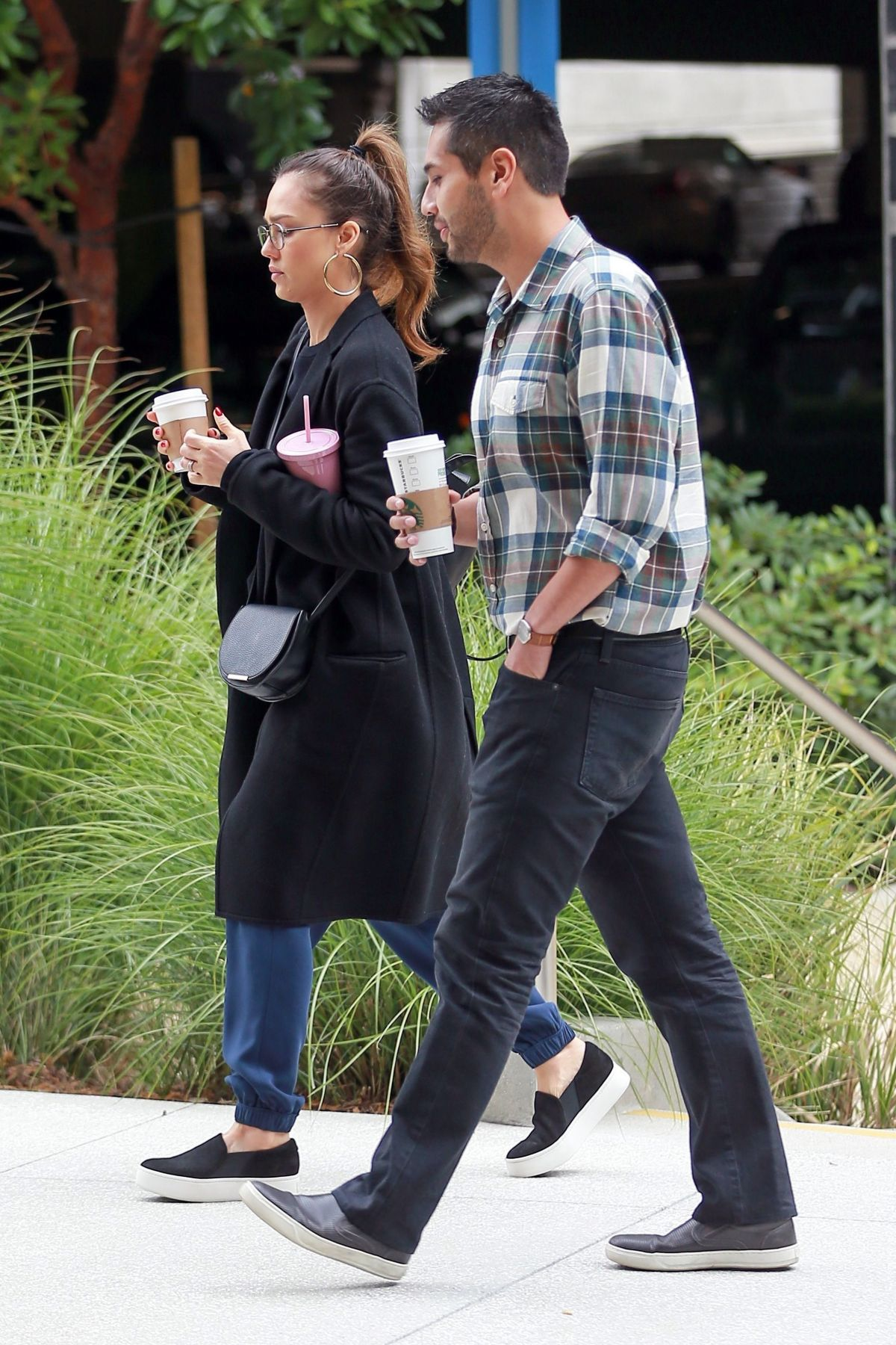 JESSICA ALBA Out in Los Angeles 05/25/2017