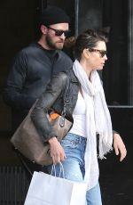 JESSICA BIEL and Justin Timberlake Out and About in New York 05/11/2017