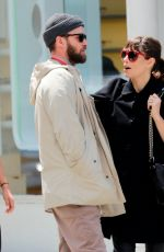 JESSICA BIEL and Justin Timberlake Out and About in New York 05/13/2017