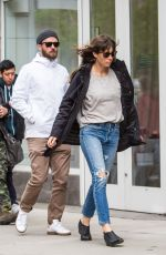 JESSICA BIEL and Justin Timberlake Out in New York 05/09/2017