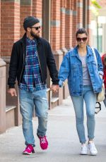 JESSICA BIEL and Justin Timberlake Out in New York 05/17/2017