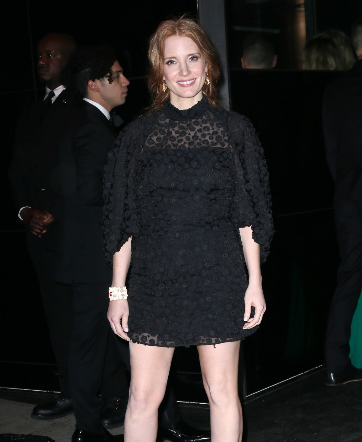 JESSICA CHASTAIN at MET Gala After Party in New York 05/01/2017