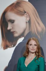 JESSICA CHASTAIN at Miss Sloane Photocall in Madrid 05/03/2017