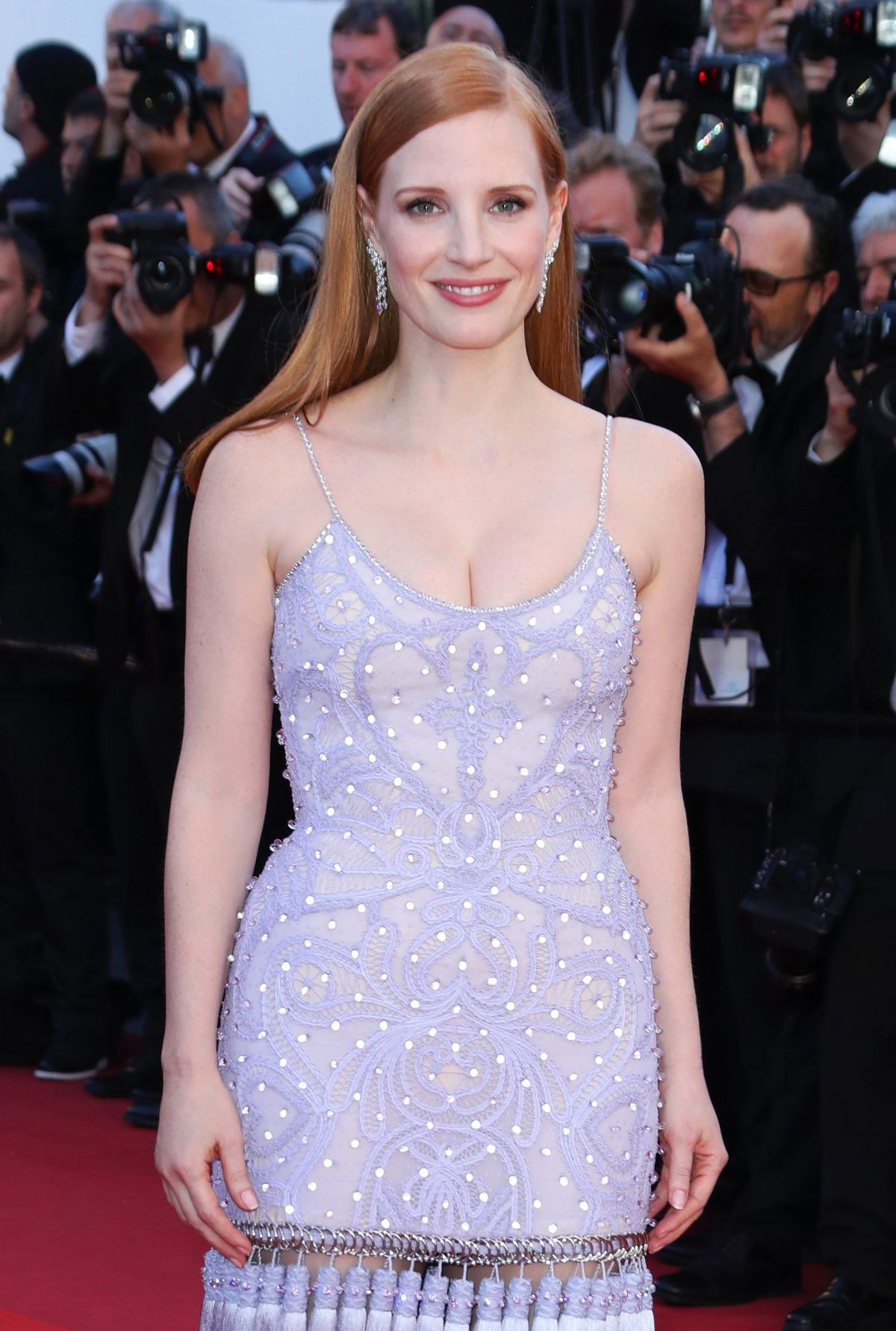 JESSICA CHASTAIN at Okja Screening at 70th Annual Cannes ... Jessica Chastain
