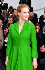 JESSICA CHASTAIN at The Meyerowitz Stories Premiere at 70th Annual Cannes Film Festival 05/21/2017