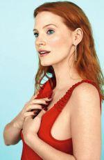 JESSICA CHASTAIN in Grazia Magazine, France February 2017 Issue
