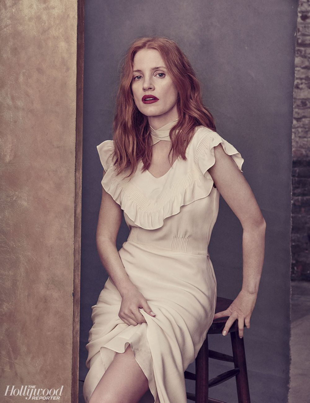 JESSICA CHASTAIN in The Hollywood Reporter, May 2017