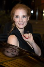 JESSICA CHASTAIN Leaves Mariott Hotel in Cannes 05/18/2017
