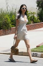 JESSICA GOMES Arrives at a Pool Party in Beverly Hills 05/28/2017