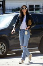 JESSICA GOMES in Ripped Jeans Out and About in Los Angeles 05/29/2017